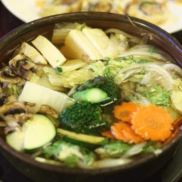 Vegetable Udon @ Little Tokyo