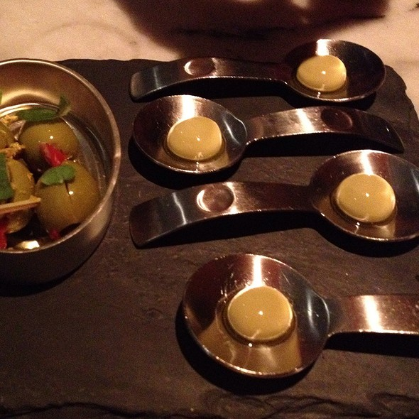 Olives (Traditional And Modern) @ The Bazaar by Jose Andres