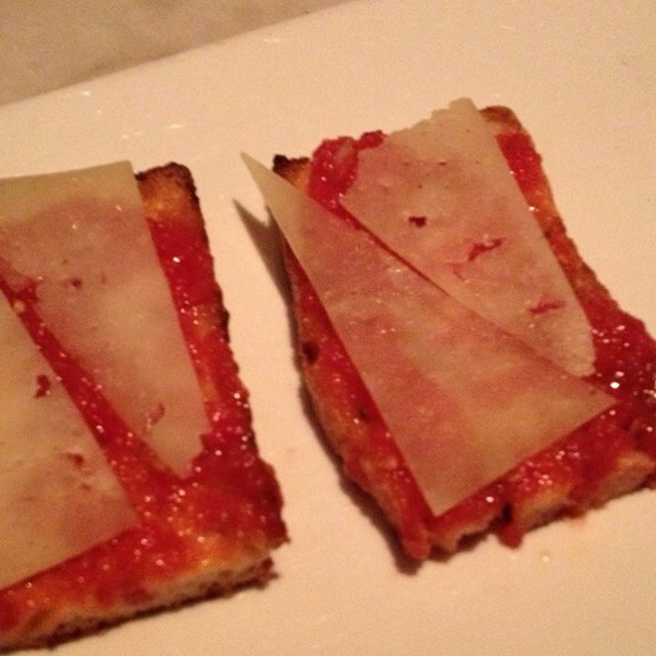 Pa'amb Tomaquet (Catalan Style Toasted Bread) @ The Bazaar by Jose Andres