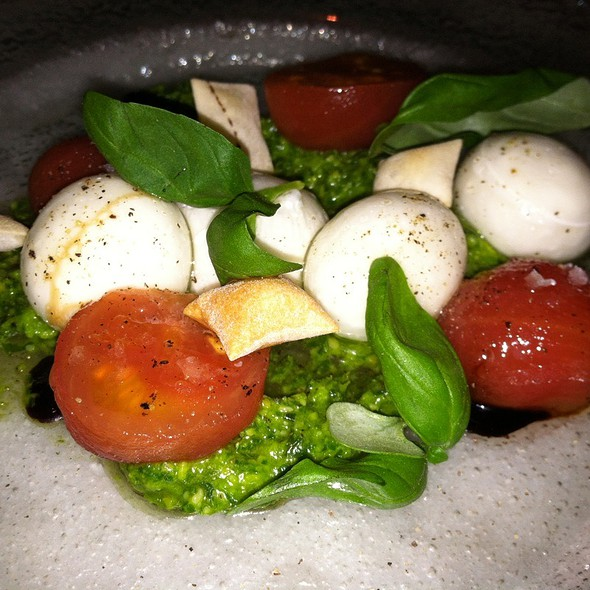 Caprese Salad @ The Bazaar by Jose Andres