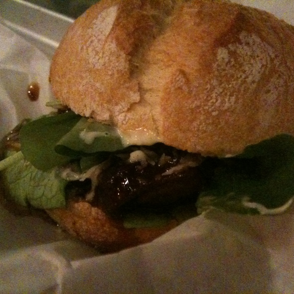 Lamb Cheek Sandwich @ Spencer on the Go