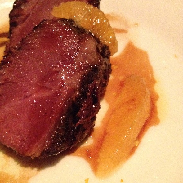 Braised Wagyu Beef Cheeks With California Citrus @ The Bazaar by Jose Andres