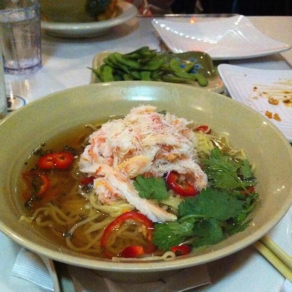 Crab Ramen With Truffle Oil And Thai Basil @ Sensei Sushi
