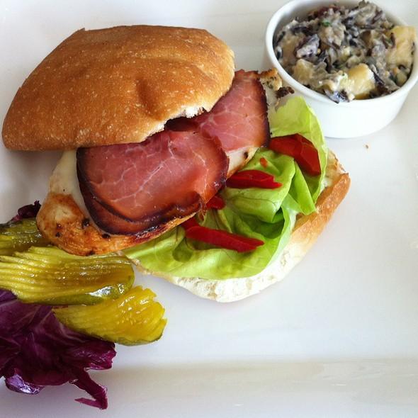 Chicken And Prosciutto Sandwich