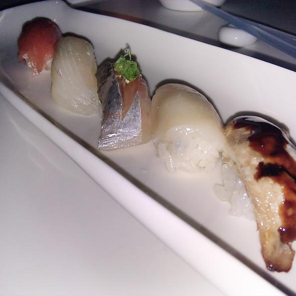 Assorted Sushi Plate  @ Morimoto Waikiki