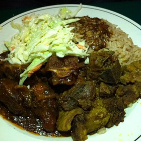 Goat Curry And Oxtail Combo