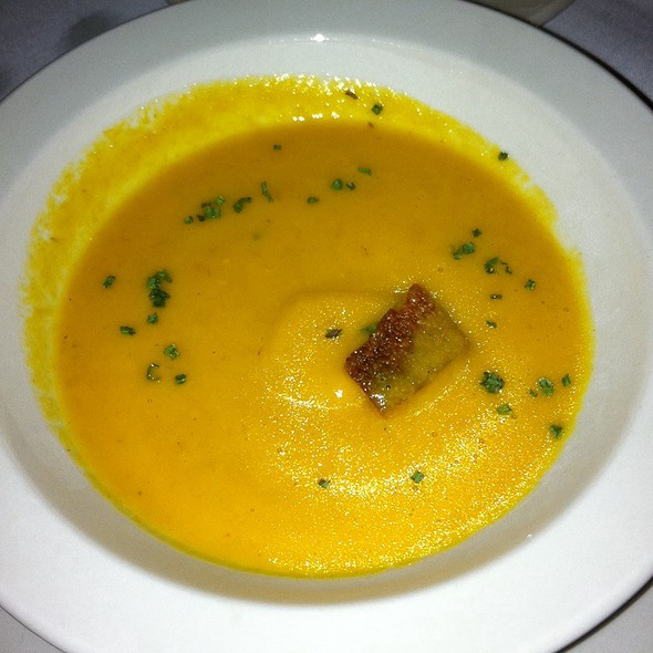 Carrot Soup - Collage Restaurant, St. Augustine, FL