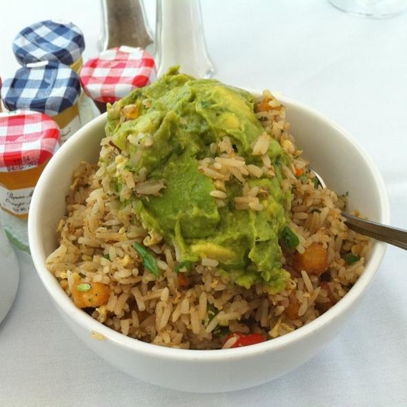 Avocado Fried Rice @ Asia de Cuba at Mondrian LA