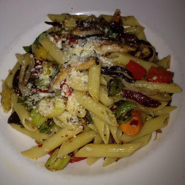 Penne Pasta With Vegetables (Off Menu) @ Bayside Restaurant