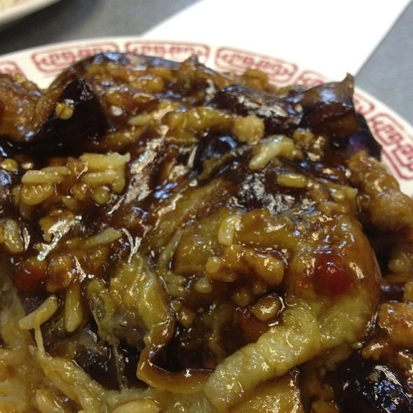 Spicy Garlic Eggplant @ 69 Chinese Restaurant