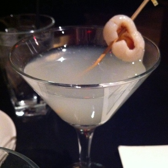 Lychee Drop @ Dragonfish Asian Cafe