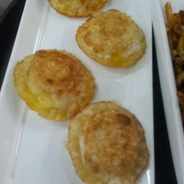Pan Fried Hairy Crab Paste Dumplings  @ Shanghai Kitchen