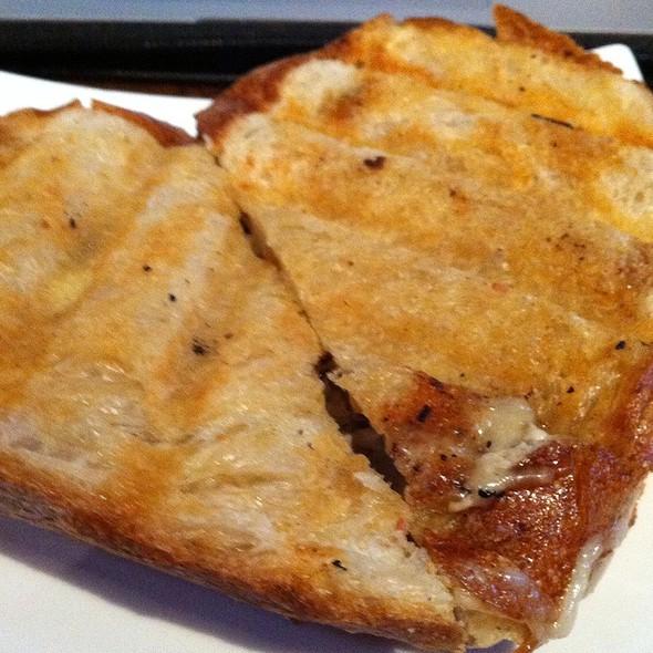 Mushroom Onion Pressed Sandwich @ The Summit SF