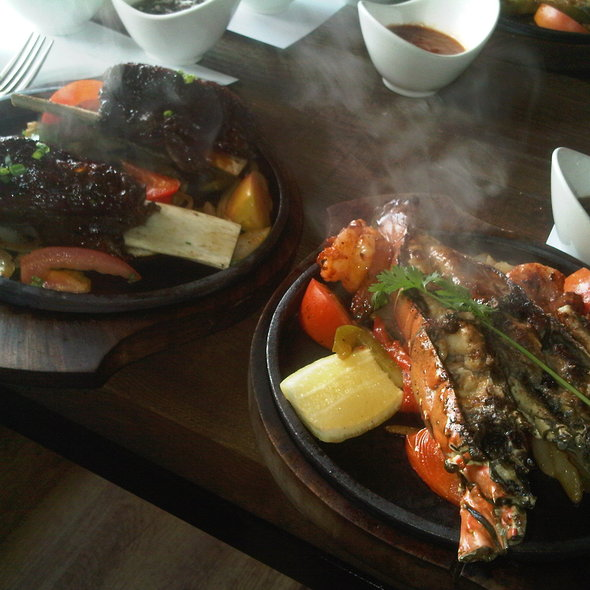 Seafood Fajita @ Loco