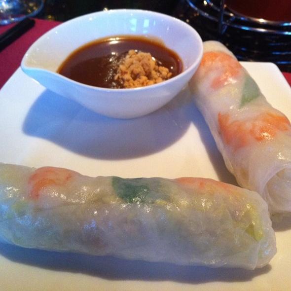 summer rolls @ Saigon Flavors