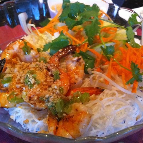 Vermicelli With Charbroiled Shrimp @ Saigon Flavors