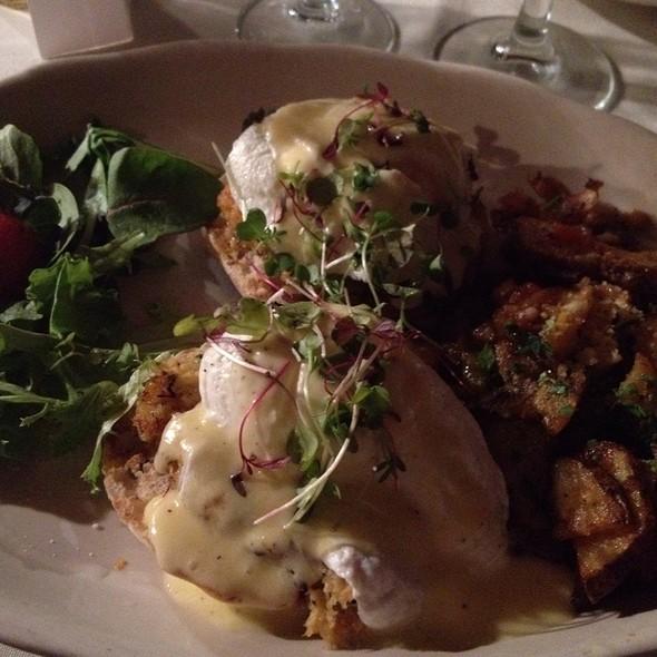 Crab Cake Eggs Benedict - Philip Marie, New York, NY