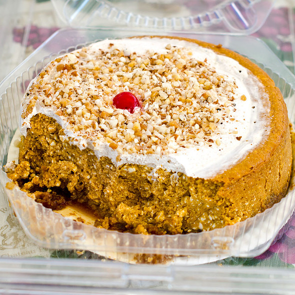 Pumpkin Cheese Cake @ West End Farmers Market