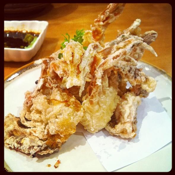 Deep fried soft shell crab @ Sushi Tei