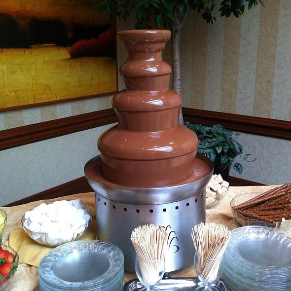Chocolate Fountain - Allgauer's, Lisle, IL