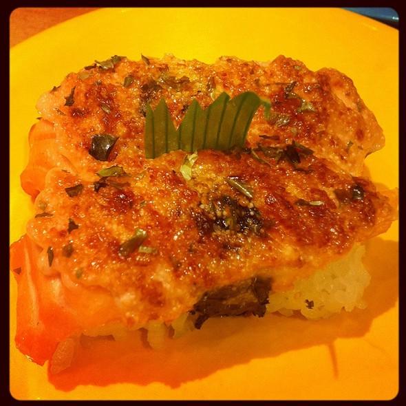 Smoked salmon @ Sushi Tei