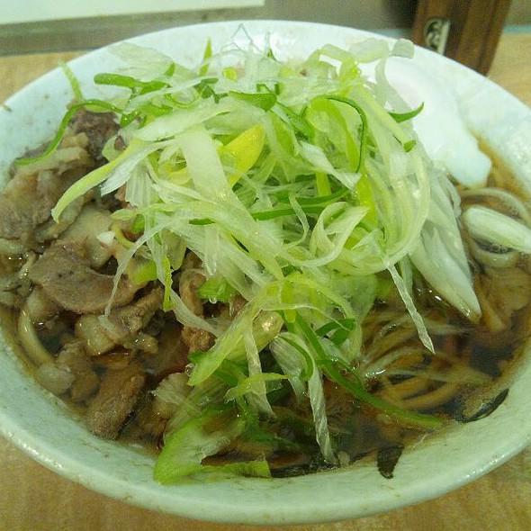 肉そば @ 肉そば・肉うどんのお店 南天 本店