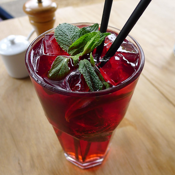 Rosehip and Mint Punch @ Bills Surry Hills