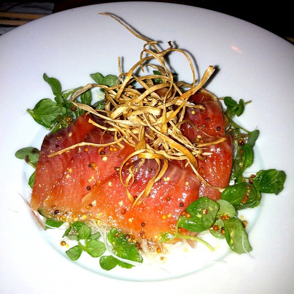 Tasmanian Trout Sashimi - brushstroke, New York, NY