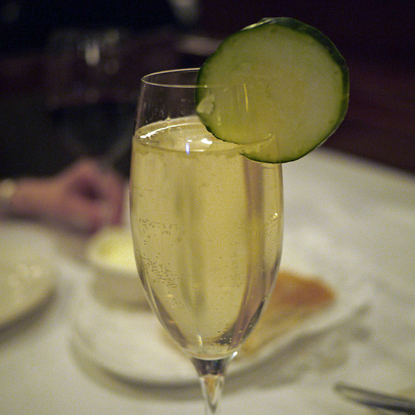 Hendrick's French 75 - Del Frisco's Double Eagle Steak House - Las Vegas, Las Vegas, NV