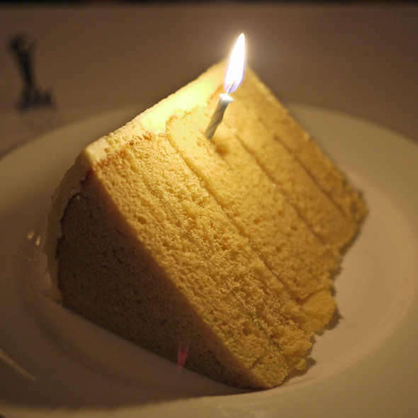 Lemon Cake - Del Frisco's Double Eagle Steak House - Las Vegas, Las Vegas, NV