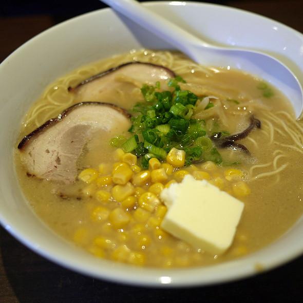 Tonkotsu Ramen @ Monta Noodle House