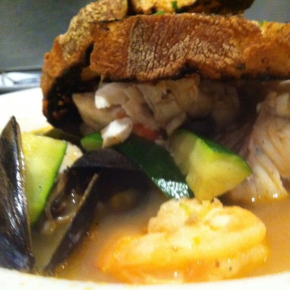 Seafood Boulibase (Grouper, Calamari, Shrimp, And Mussels In A Lobster Broth) - Fire & Oak - Montvale, Montvale, NJ