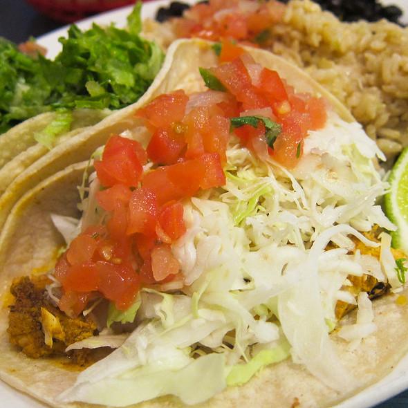 Wahoo 39 s fish tacos menu san jose california foodspotting for Cajun fish tacos