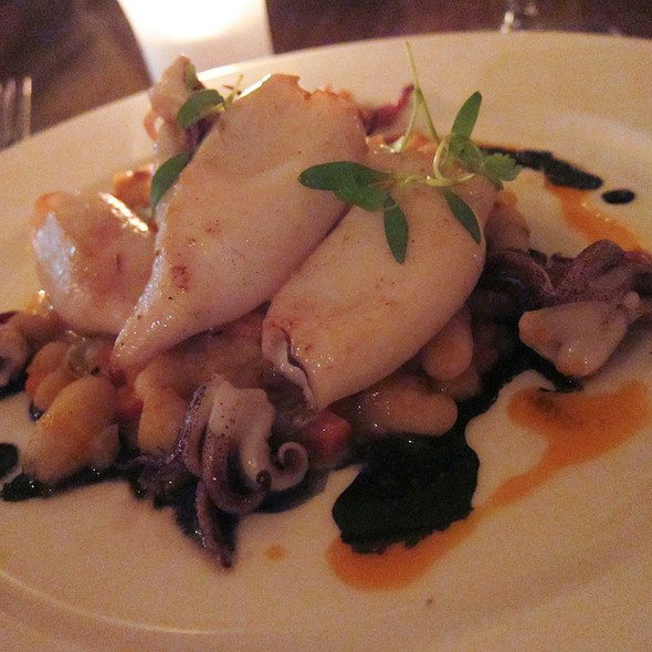 Pan Seared Calamari @ Radius
