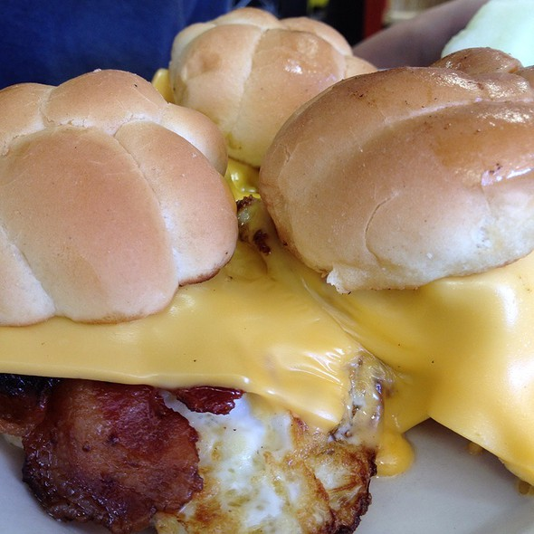 Breakfast Sliders @ Mancini's Cafe & Bakery