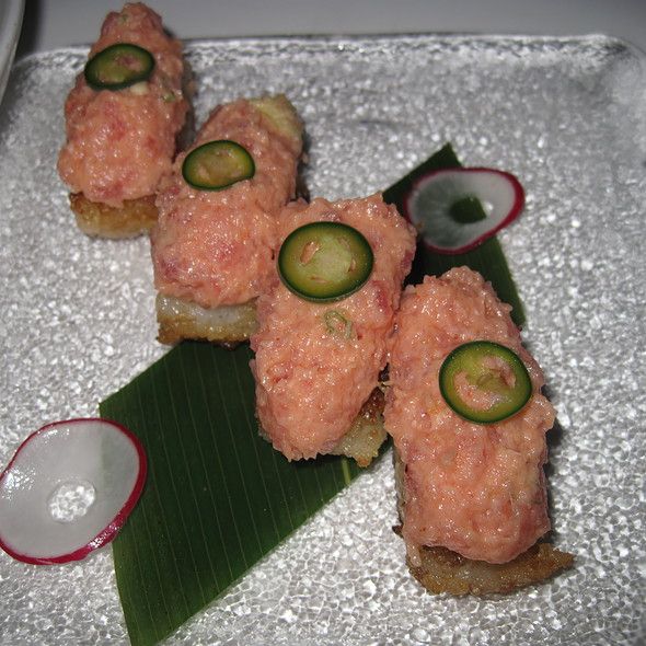 Crispy Rice with Spicy Tuna @ Katsuya