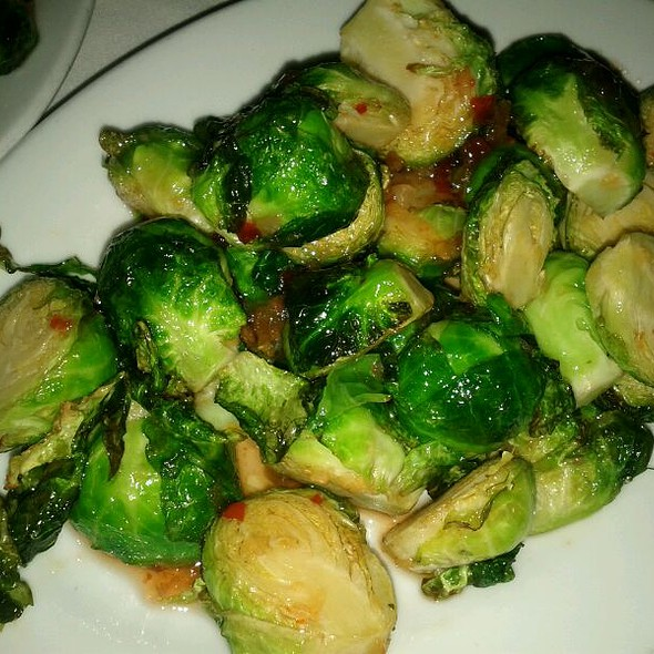 Brussels Sprouts - Le Colonial NYC, New York, NY