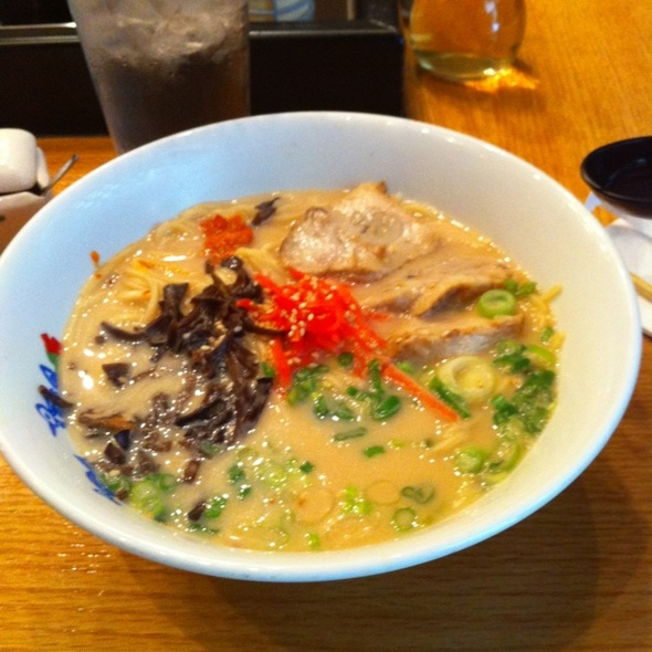 Hakata Ramen @ Menchanko-Tei Restaurant