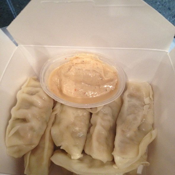 Chicken And Thai Basil Dumplings @ Rickshaw Dumpling Bar