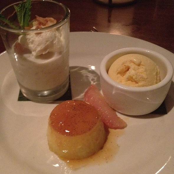 Trio Of Desserts @ Cuba Libre Restaurant & Rum Bar