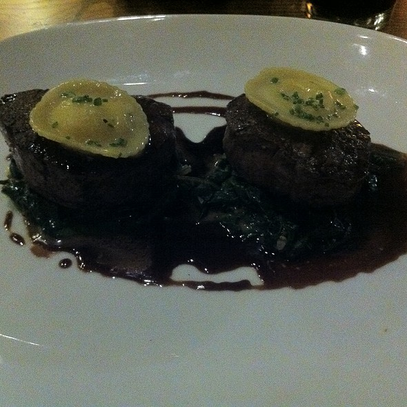 Tournedos of Beef - Catalyst Restaurant, Cambridge, MA