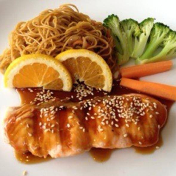 Salmon Teriyaki @ Hisa Japanese Restaurant