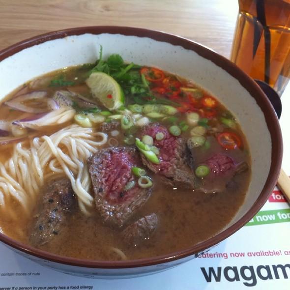 Chili Beef Ramen @ Wagamama