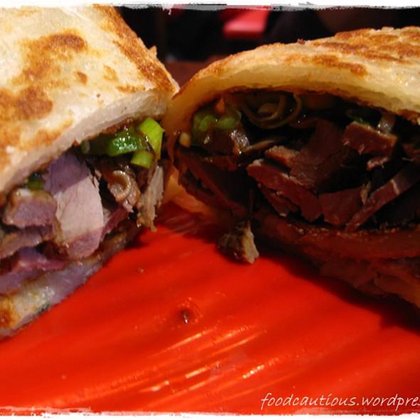 Beef Roll @ Taiwan Cafe