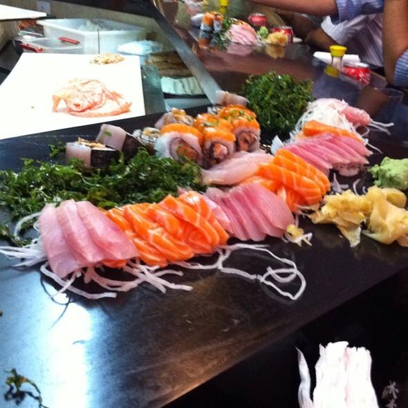 Sushis e Sashimis @ Mori Sushi Bar