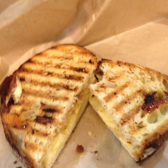 Fig And Cheese Sandwich @ Beecher's Handmade Cheese
