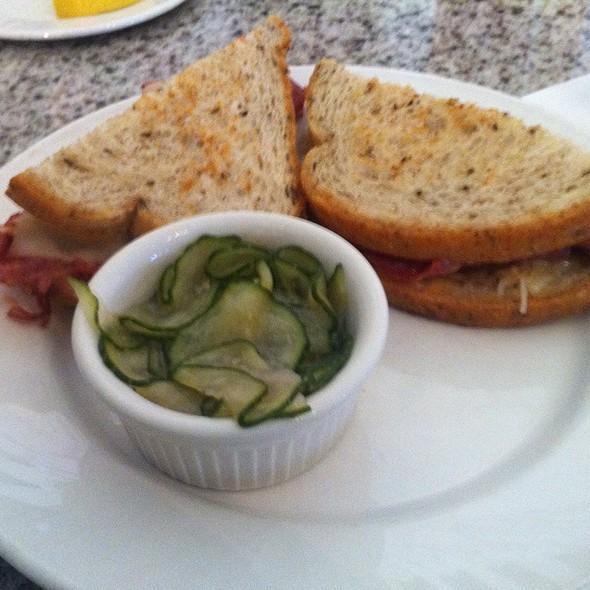 Reuben Sandwich With Marinated Cucumber Salad @ Grand Floridian Café
