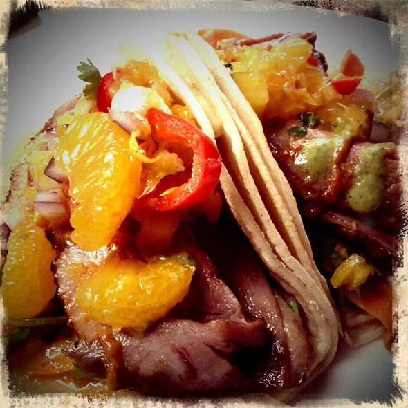 Chinatown Duck Breast Tacos @ Bistro Sabor