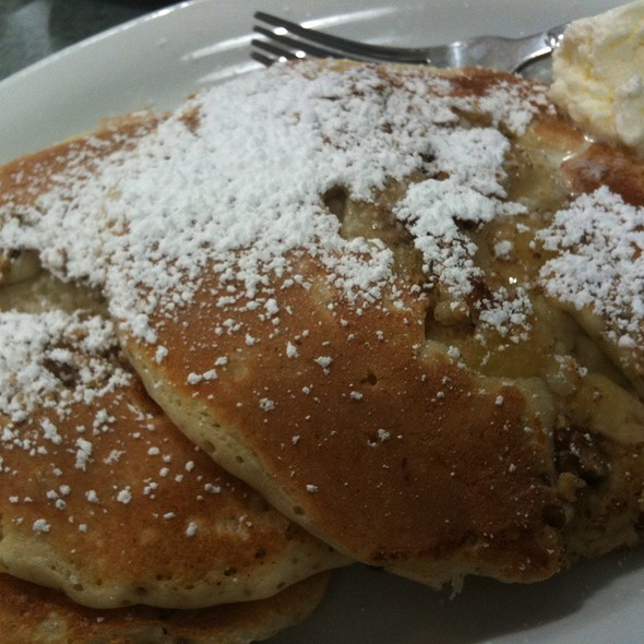 Pecan Pancakes @ Omelette & Waffle Shop