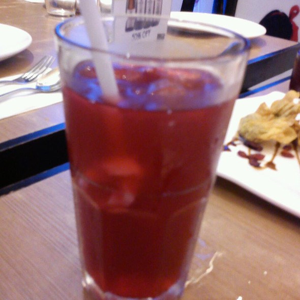 Red Citrus Iced Tea @ Johnny Chow